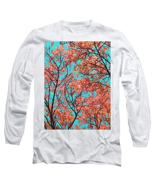 Natures Magic - Orange Long Sleeve T-Shirt