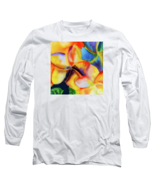 Long Sleeve T-Shirt featuring the painting Nature's Pinwheels by Stephen Anderson