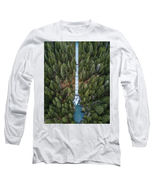 Natures Waterslide  Long Sleeve T-Shirt