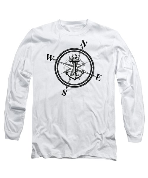 Nautica Bw Long Sleeve T-Shirt