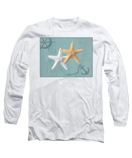 Nautical Stars Long Sleeve T-Shirt