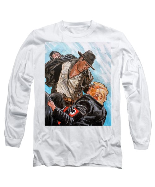 Nazis. I Hate Those Guys. Long Sleeve T-Shirt