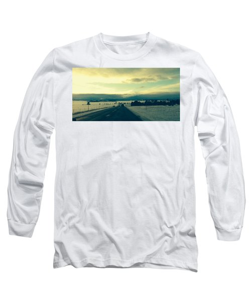 Long Sleeve T-Shirt featuring the photograph Near Hartsel by Christin Brodie