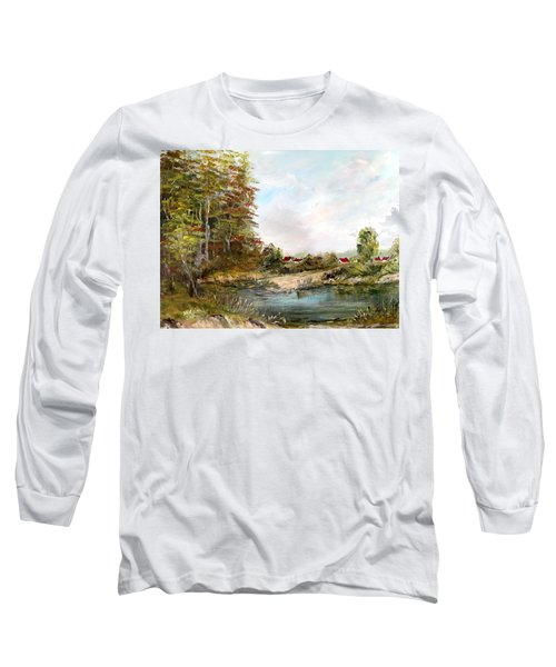 Near The Pond Long Sleeve T-Shirt