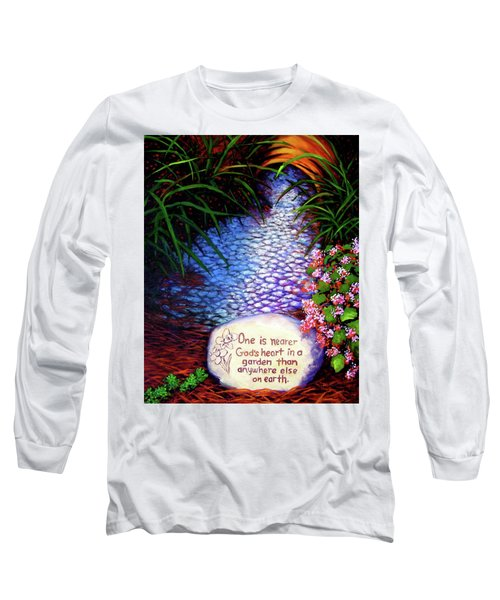Garden Wisdom, Nearer Long Sleeve T-Shirt