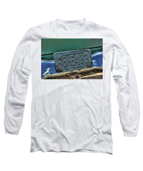 Nebraska Plate Long Sleeve T-Shirt