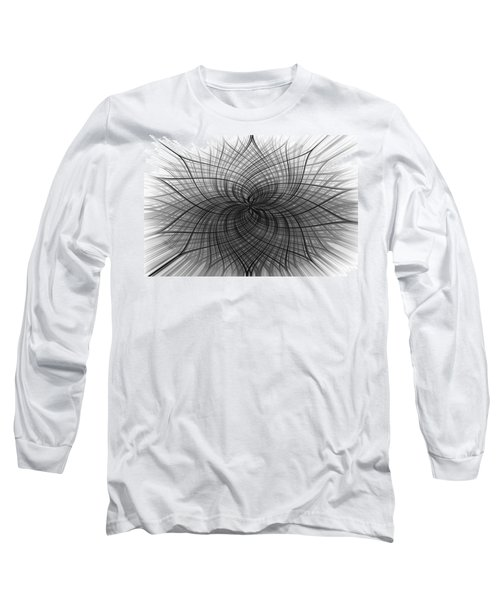 Long Sleeve T-Shirt featuring the digital art Negativity by Carolyn Marshall