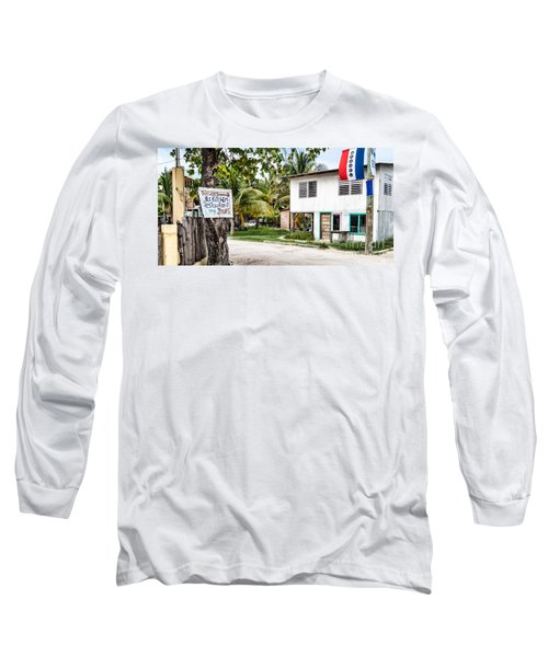 Long Sleeve T-Shirt featuring the photograph Neglected In Paradise by Lawrence Burry