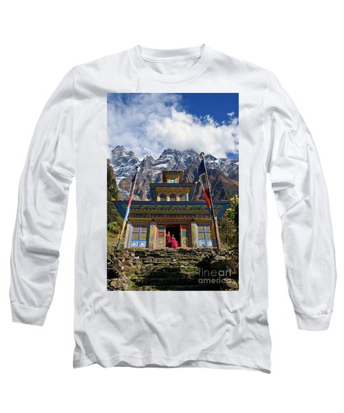 Nepal_d1062 Long Sleeve T-Shirt