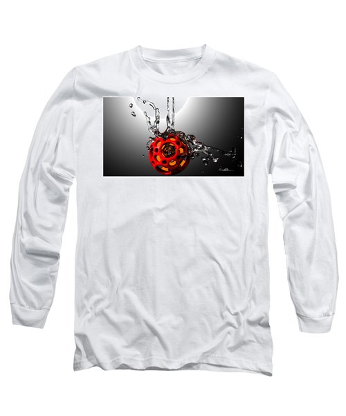 Nested Dodecahedron 001 Long Sleeve T-Shirt