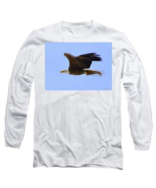 Nesting Eagle Long Sleeve T-Shirt