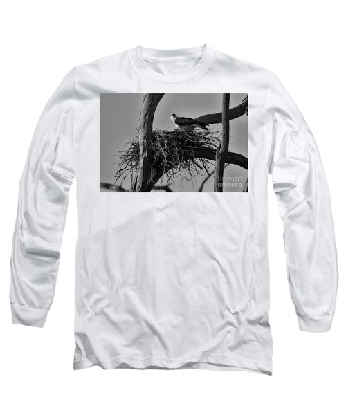 Nesting V2 Long Sleeve T-Shirt by Douglas Barnard
