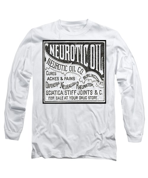 Neurotic Vintage Ad Long Sleeve T-Shirt