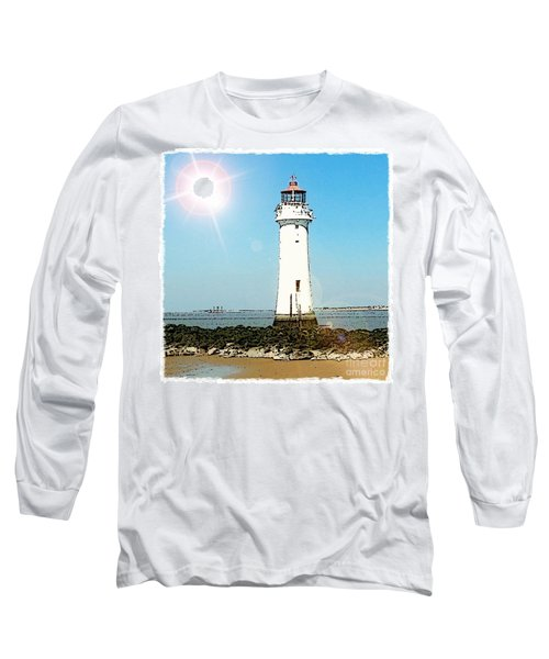 New Brighton Lighthouse Long Sleeve T-Shirt