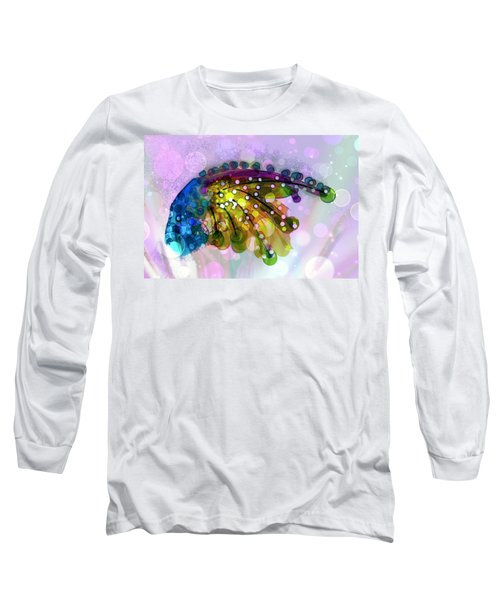 New Composition  Long Sleeve T-Shirt by Don Wright