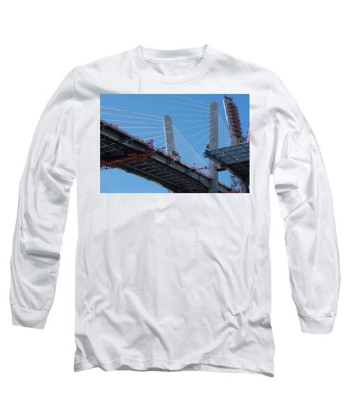 New Goethals Bridge Construction 1 Long Sleeve T-Shirt