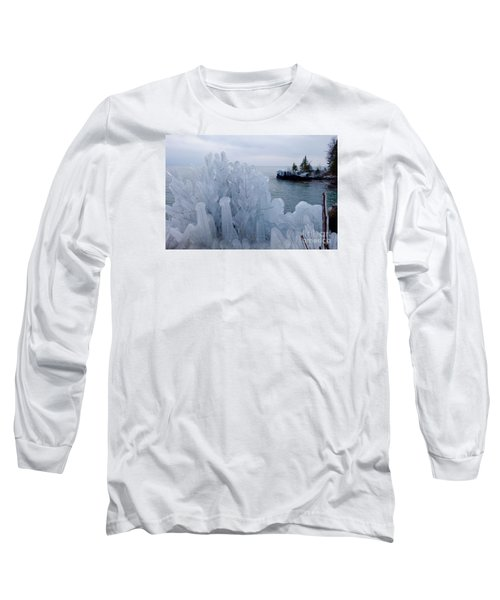 New Ice On Lake Superior Long Sleeve T-Shirt