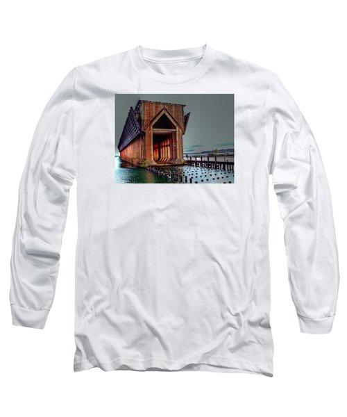 Long Sleeve T-Shirt featuring the photograph New Image - The Ore Is Gone by MJ Olsen