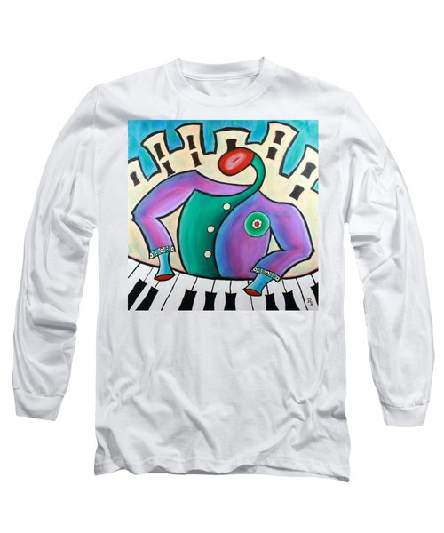 New Orleans Cool Jazz Piano Long Sleeve T-Shirt