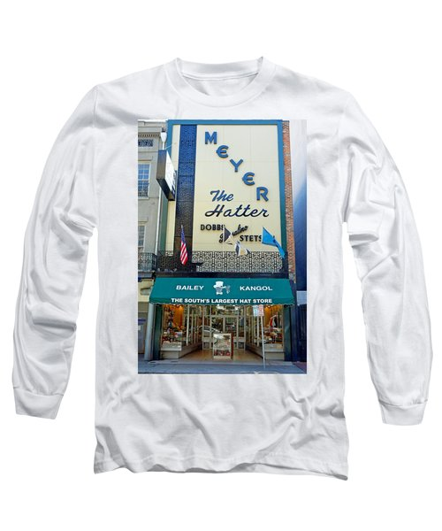 New Orleans Hatter Long Sleeve T-Shirt