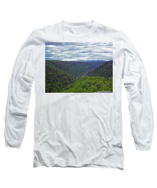 New River Bridge Long Sleeve T-Shirt