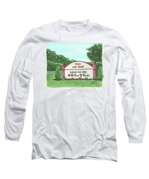 New River Welcome Long Sleeve T-Shirt