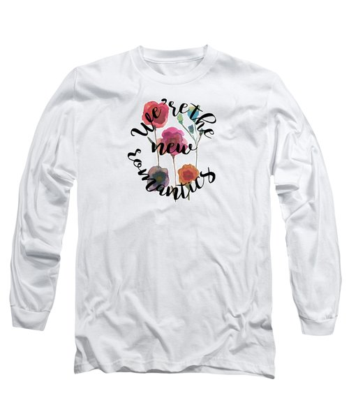 New Romantics Long Sleeve T-Shirt by Patricia Abreu