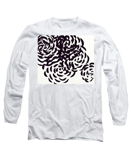 Floral Essence Long Sleeve T-Shirt by Anita Lewis