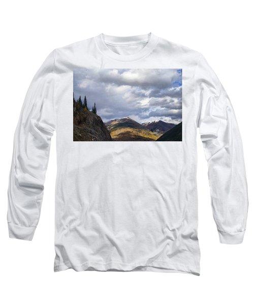 Peeking At The Peaks Long Sleeve T-Shirt