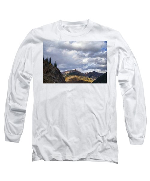 Peeking At The Peaks Long Sleeve T-Shirt