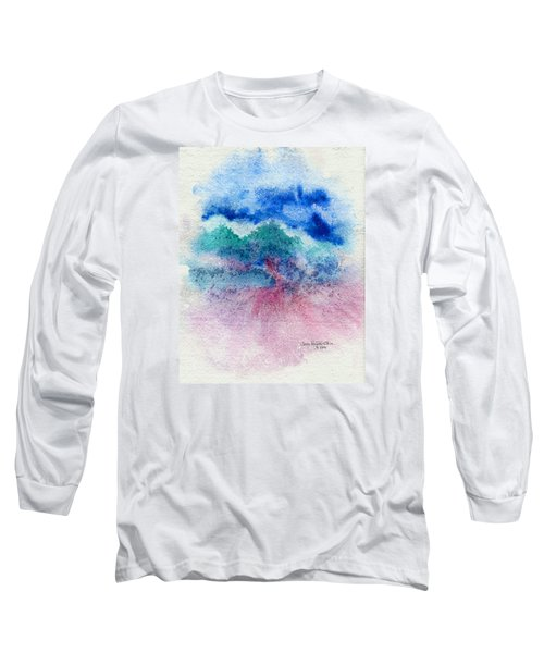 New Wave Long Sleeve T-Shirt by Joan Hartenstein