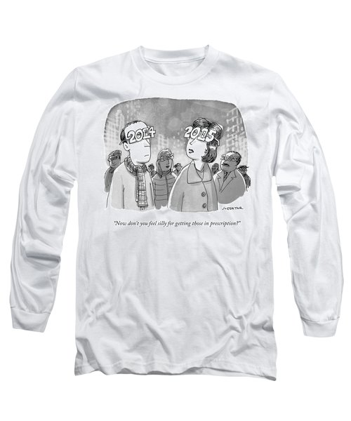 New Years Eve Glasses Long Sleeve T-Shirt