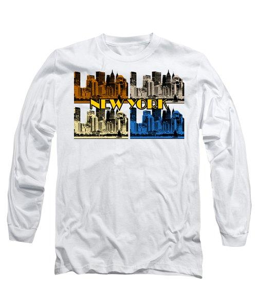 New York 4 Color Long Sleeve T-Shirt