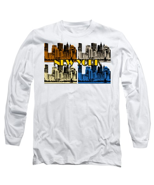 New York 4 Color Long Sleeve T-Shirt
