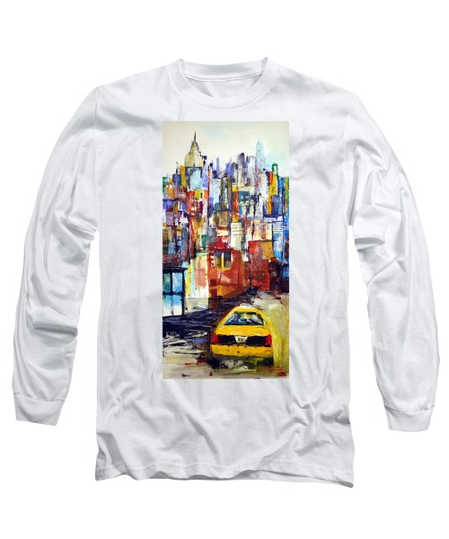 New York Cab Long Sleeve T-Shirt