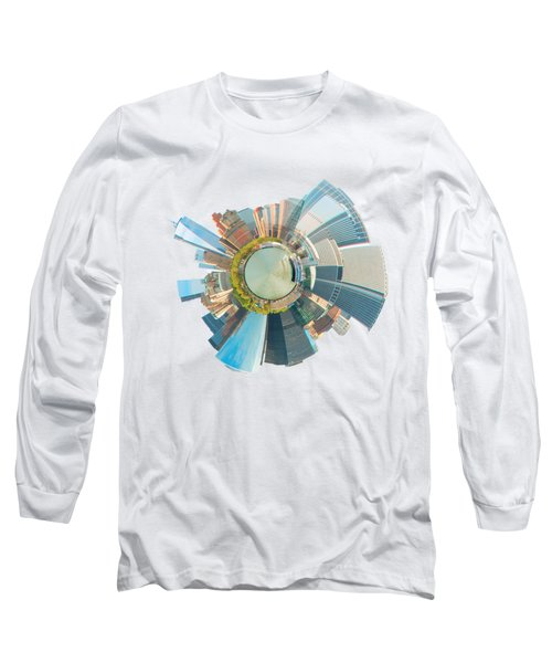 New York Circle Long Sleeve T-Shirt