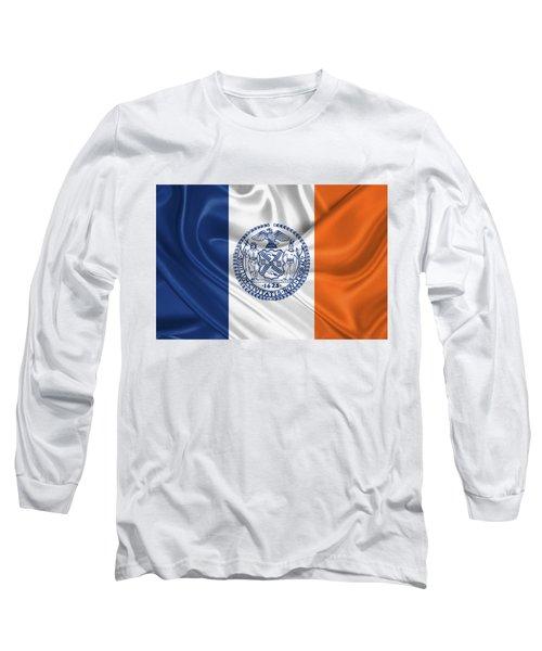 New York City - Nyc Flag Long Sleeve T-Shirt