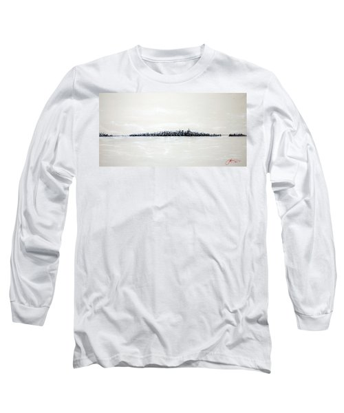 New York City Skyline 48 Long Sleeve T-Shirt