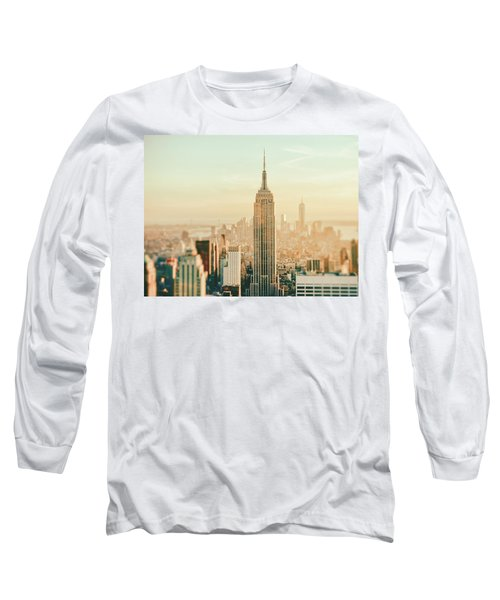 New York City - Skyline Dream Long Sleeve T-Shirt