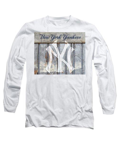 New York Yankees Rustic Long Sleeve T-Shirt