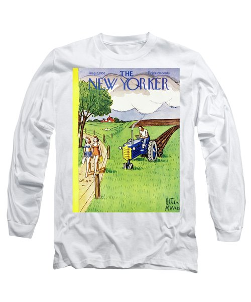 New Yorker August 2 1952 Long Sleeve T-Shirt
