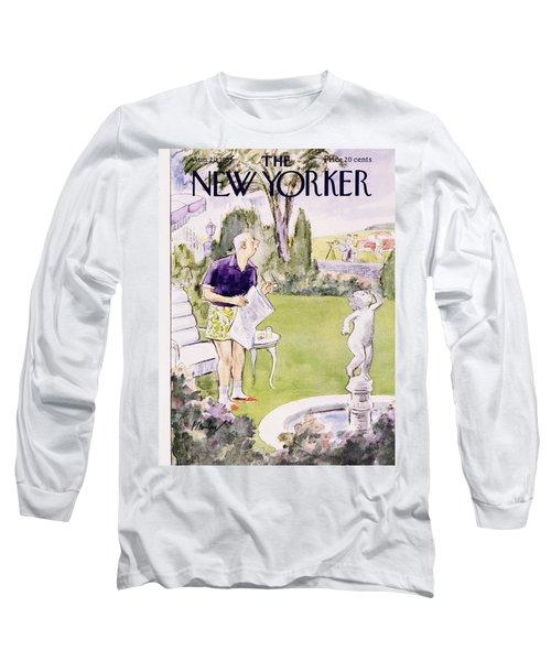 New Yorker August 20 1955 Long Sleeve T-Shirt