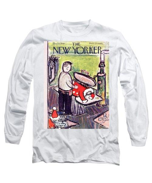 New Yorker December 17 1949 Long Sleeve T-Shirt