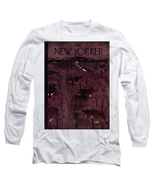 New Yorker February 6 1954 Long Sleeve T-Shirt