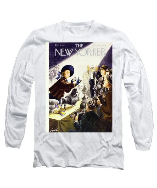 New Yorker February 9 1952 Long Sleeve T-Shirt