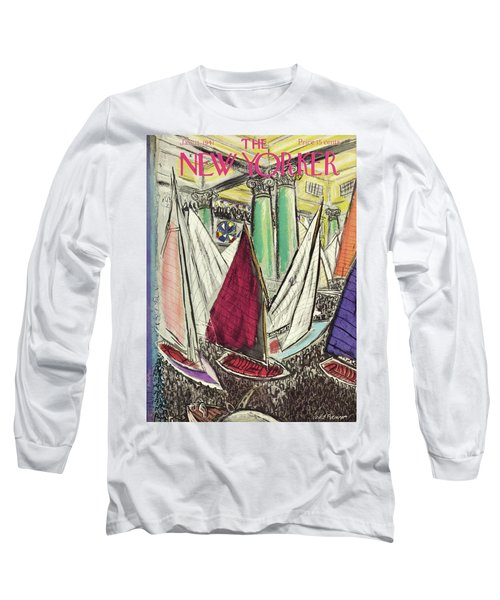 New Yorker January 11 1941 Long Sleeve T-Shirt