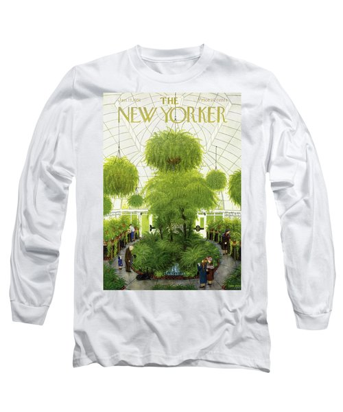 New Yorker January 13 1951 Long Sleeve T-Shirt