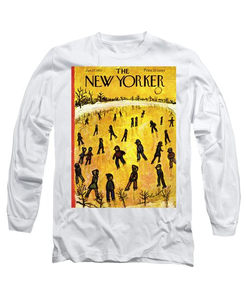 New Yorker January 17 1953 Long Sleeve T-Shirt