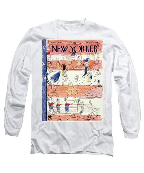 New Yorker July 2 1949 Long Sleeve T-Shirt