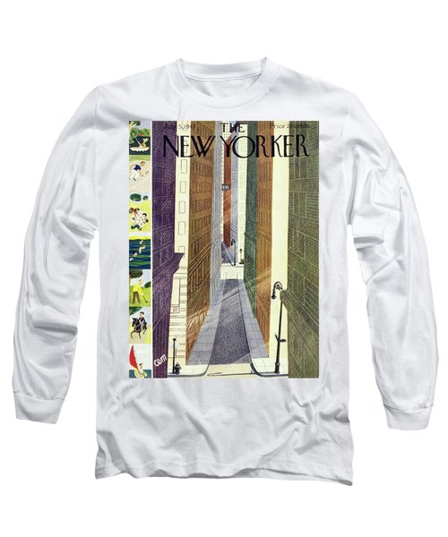 New Yorker July 5th, 1947 Long Sleeve T-Shirt